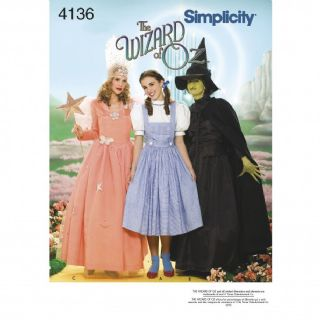 4136  Simplicity Pattern:  Women's Costumes